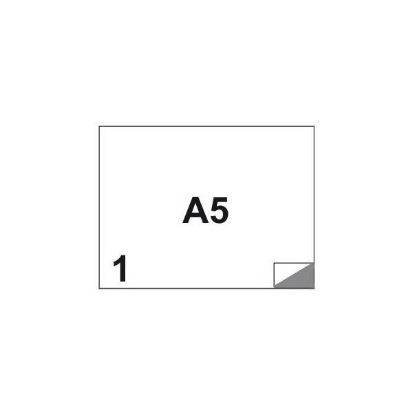 Etichette multifunzione 100 fogli A5 210 x 148,5 mm con angoli vivi senza margine 1 etichette per foglio Buffetti