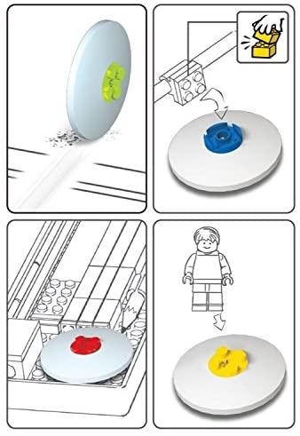 LEGO Gomme Rossa & Lime. Confezione 2 pezzi