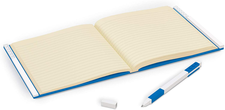 LEGO Taccuino Locking Notebook Blu