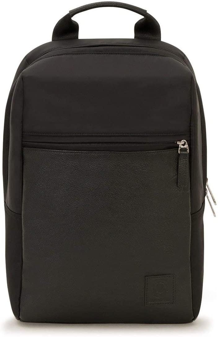 Zaino Invicta Mini Leather, Porta Laptop 13'' Ufficio e Tempo Libero