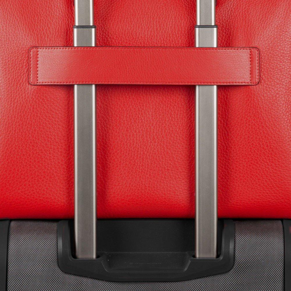 Piquadro Shopping bag porta iPad® con porta computer Muse Arancio