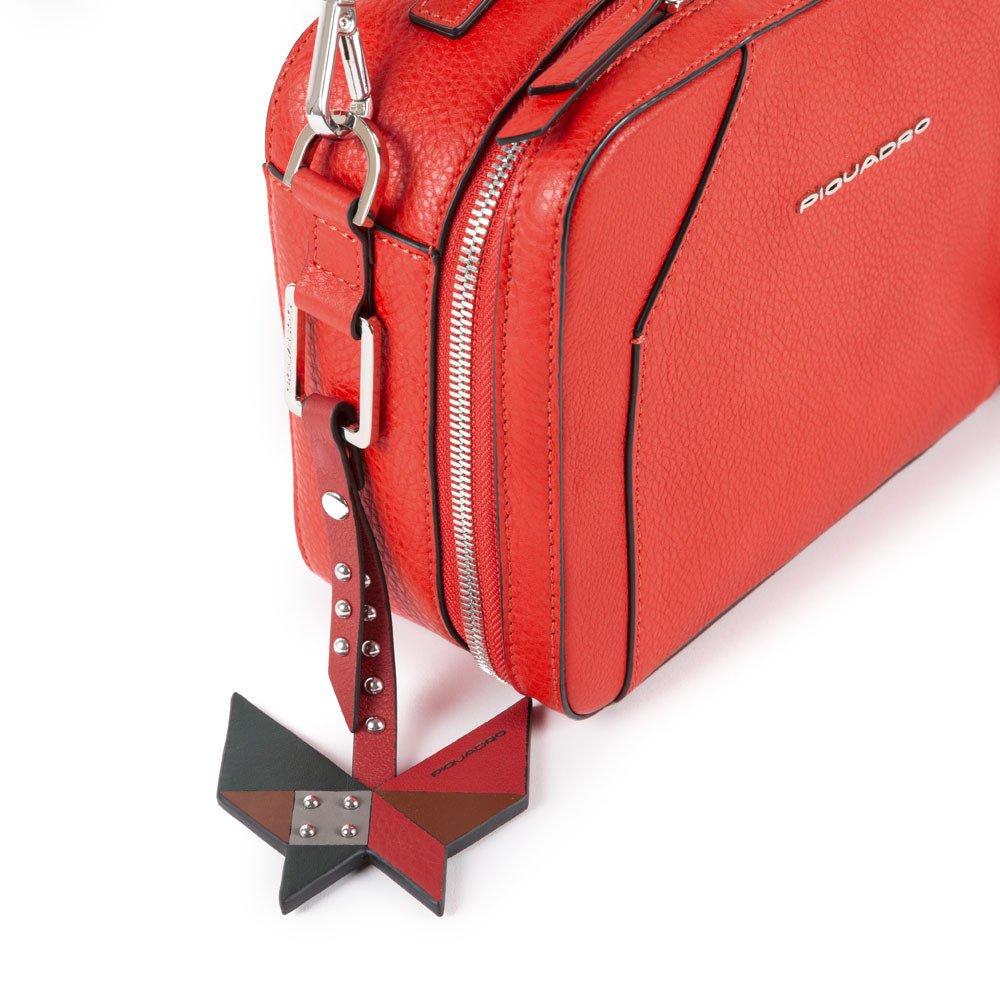 Piquadro Tracolla modello camera case Muse Rossa