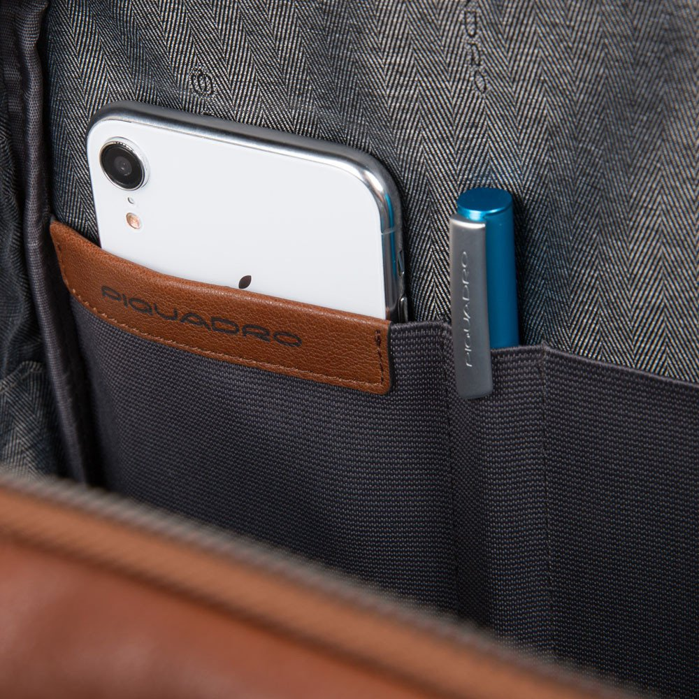 Piquadro Zaino porta computer e porta iPad® con tasc Black Square