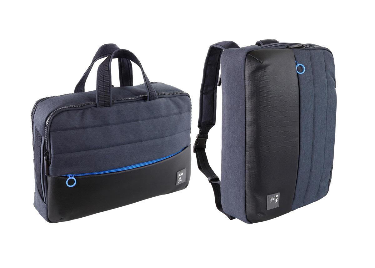 Nava borsa da lavoro passenger trasformabile in zaino nero