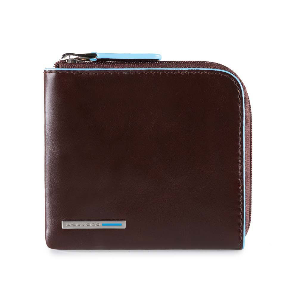 rivenditore all'ingrosso 799c6 b2c97 Piquadro Porta Carte Di Credito Blue Square RFID Protected ...