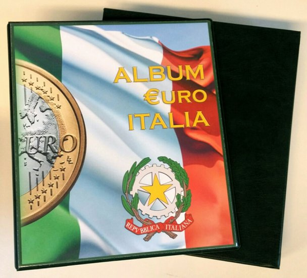 Abafil Album Euro Money - Cartella Vuota