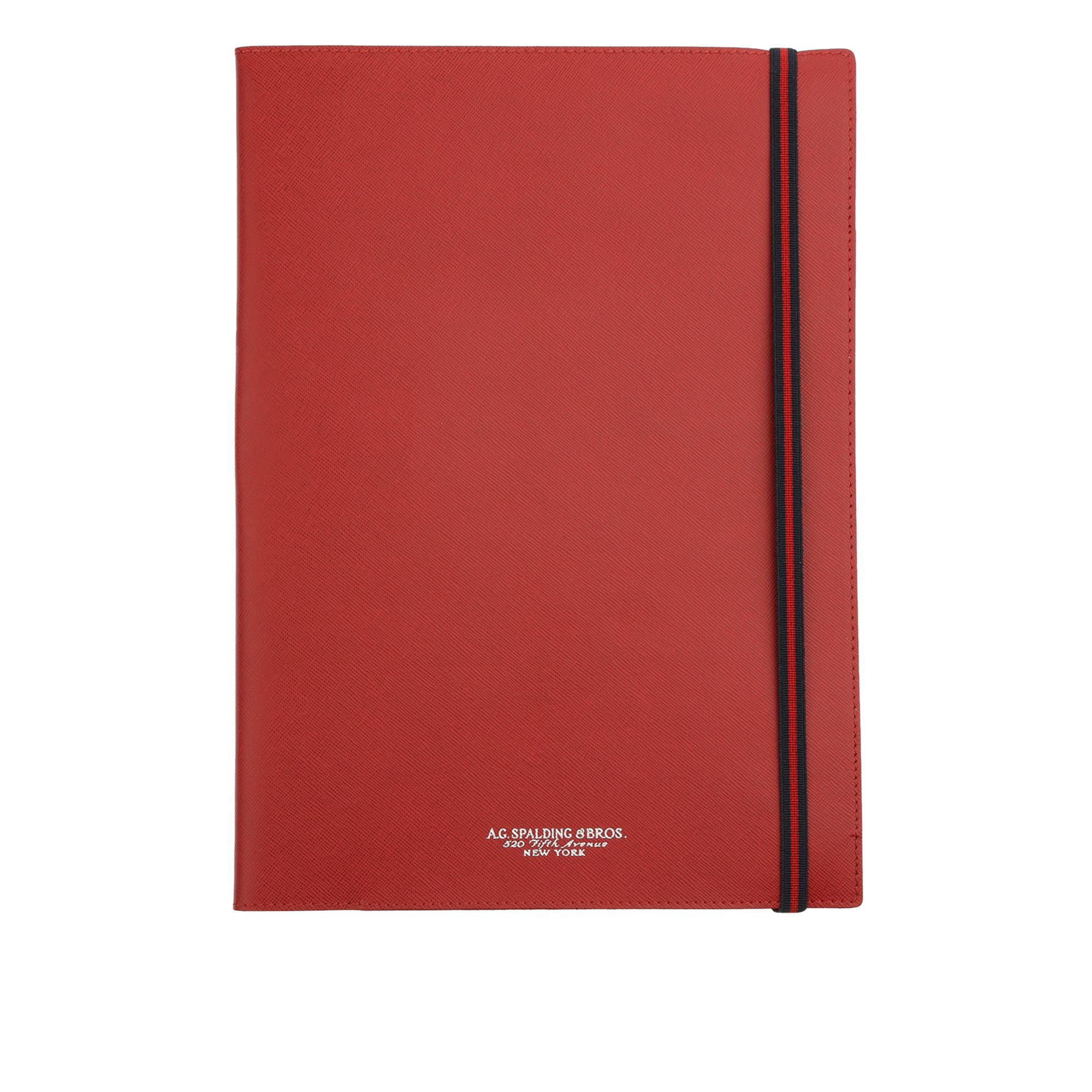 AG Spalding & Bros New easy PortaBlocco Rosso