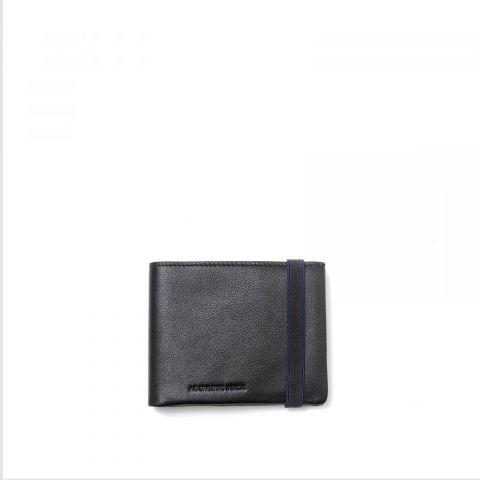 AG Spalding &Bros Portafoglio Orizzontale 4CC + P-Monete RIBBON Nero