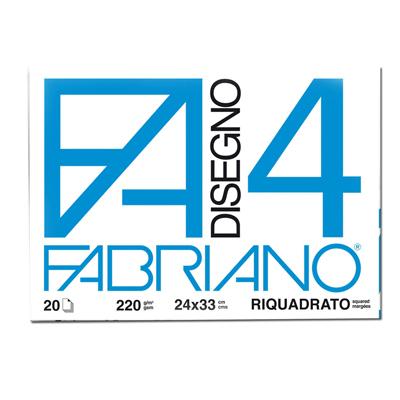 ALBUM FABRIANO4 33X48C 220GR 20FG LISCIO