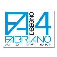 ALBUM FABRIANO4 33X48CM 220GR 20FG RUVIDO