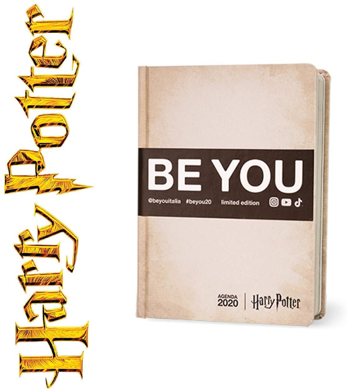 BE YOU HARRY POTTER DIARIO 2020