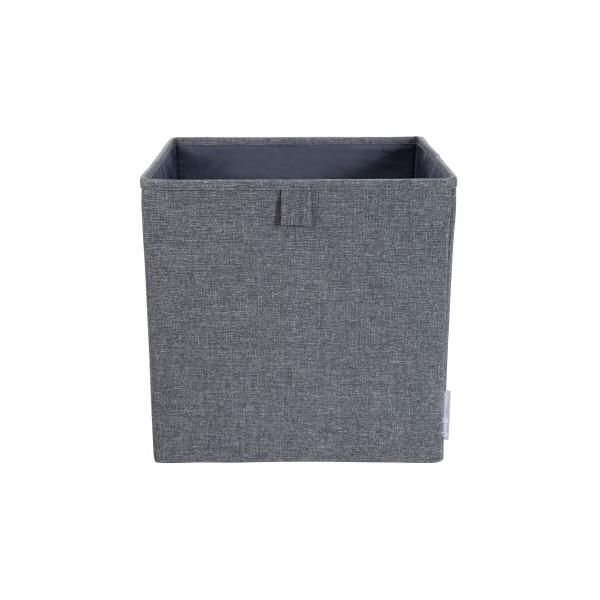 Bigso Cube Storage - Scatola Cubo aperta - Grigia