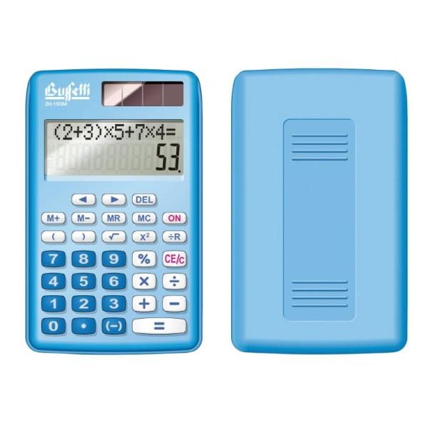 Buffetti Calcolatrice algebrica tascabile 10 cifre - Azzurra