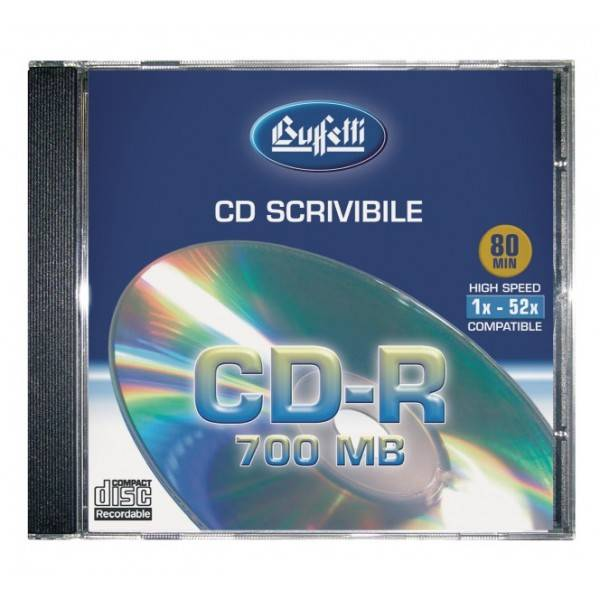 Buffetti CD-R 700 MB printable - slim case