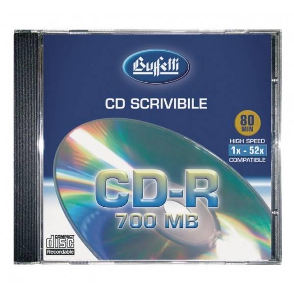 Buffetti CD-R 700MB - jewel case