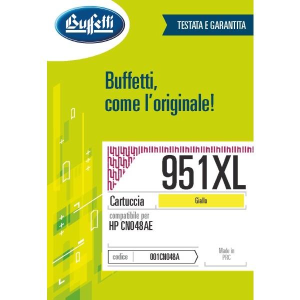 Buffetti HP cartuccia ink jet - compatibile - CN048AE - giallo