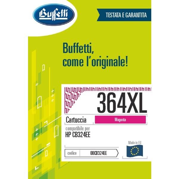 Buffetti HP Cartuccia inkjet - compatibile - CB324EE - magenta