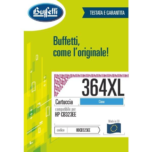 Buffetti HP Cartuccia inkjet - compatibile - CB323EE - ciano