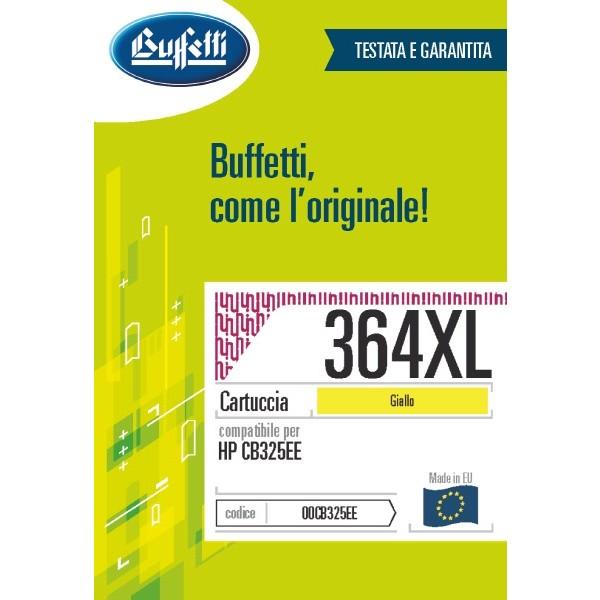 Buffetti HP Cartuccia inkjet - compatibile - CB325EE - giallo
