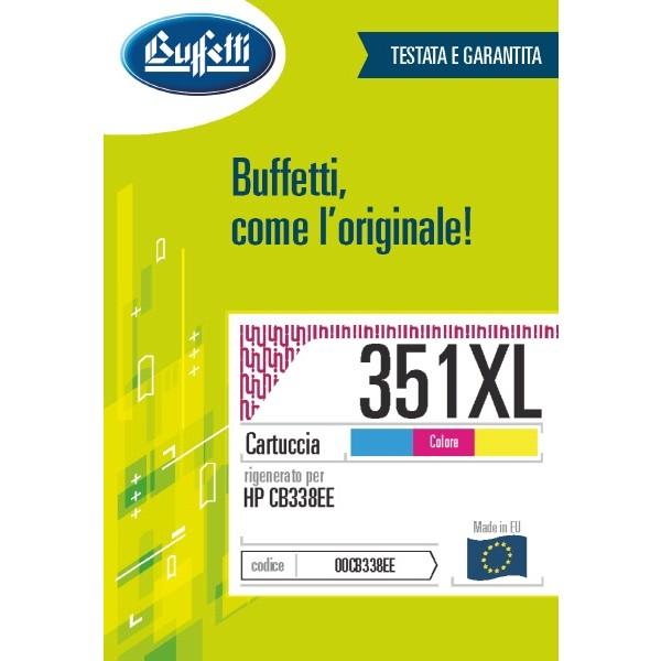 Buffetti HP Cartuccia inkjet - compatibile - CB338EE - 3 colori