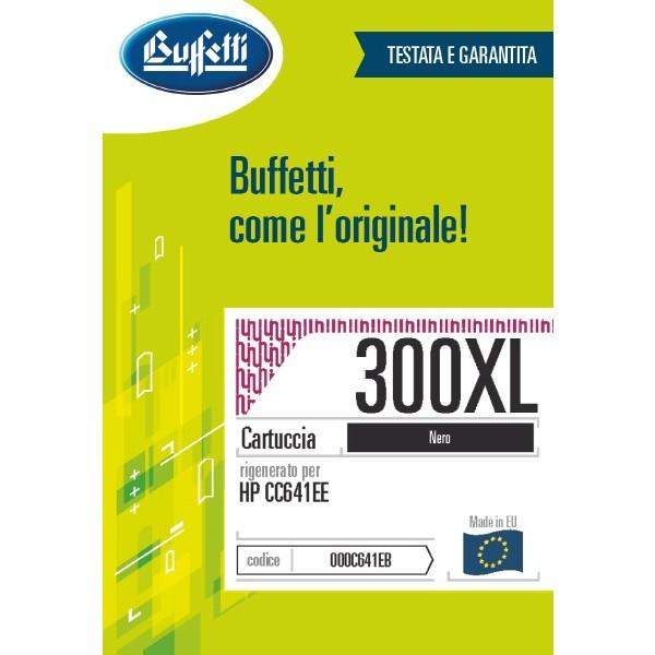 Buffetti HP Cartuccia inkjet - compatibile - CC641EE - nero