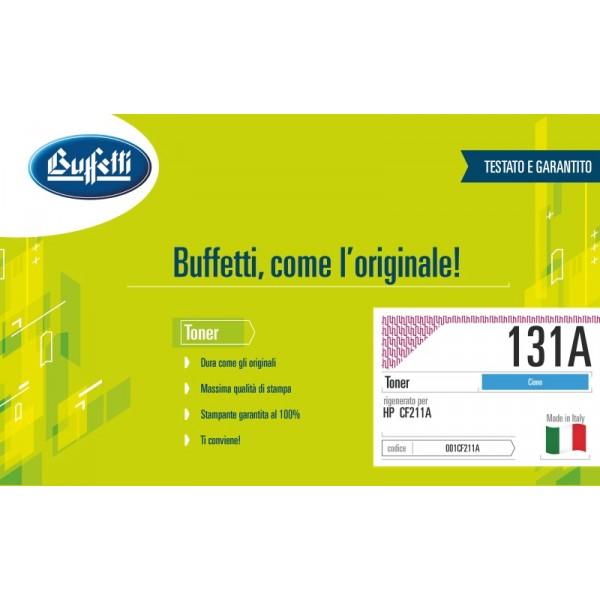 Buffetti HP Toner - compatibile - CF211A - ciano