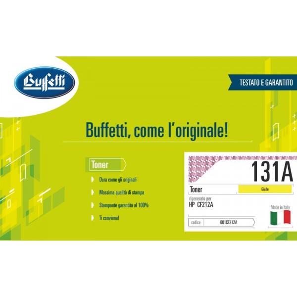 Buffetti HP Toner - compatibile - CF212A - giallo