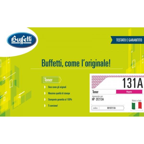 Buffetti HP Toner - compatibile - CF213A - magenta