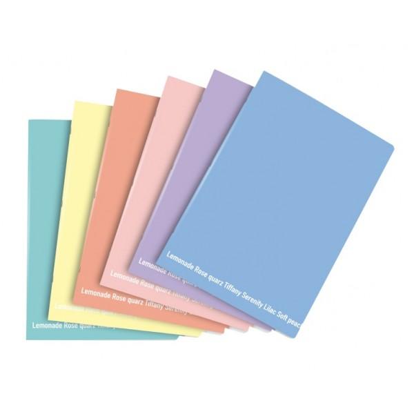 Buffetti MaxiQuaderno f to A4 rigatura C 1 rigo con margine Happy Color Pastello 80g