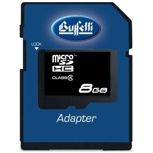 Buffetti MicroSD Card 32GB con adattatore