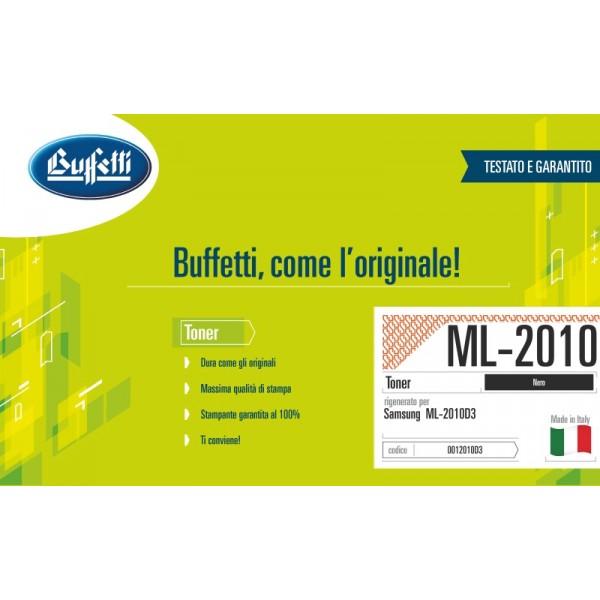 Buffetti Samsung Toner - compatibile - ML-2010D3 - nero