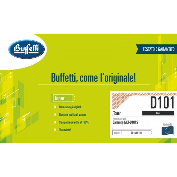 Buffetti Samsung Toner - compatibile - MLT-D101S-ELS - nero