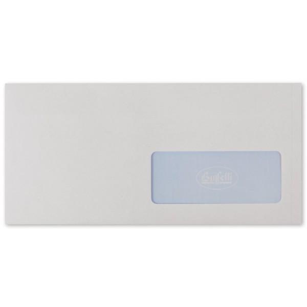 Buste commerciali adesive con finestra - conf. 500 pz.
