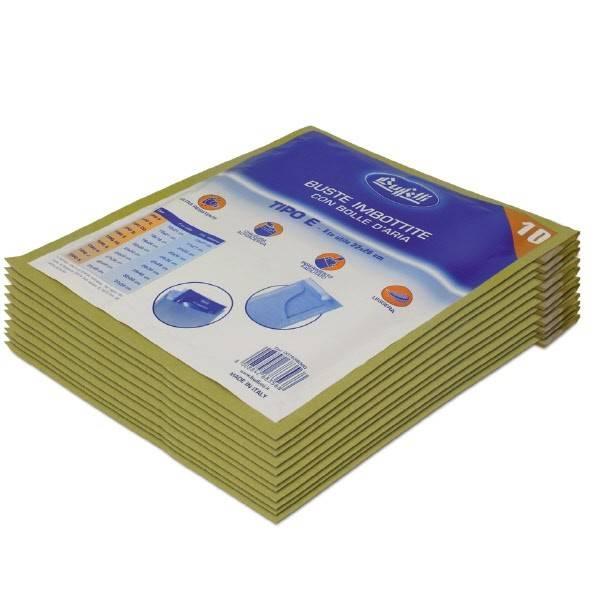 Buste imbottite in carta avana 24 x 32 cm Tipo E Buffetti