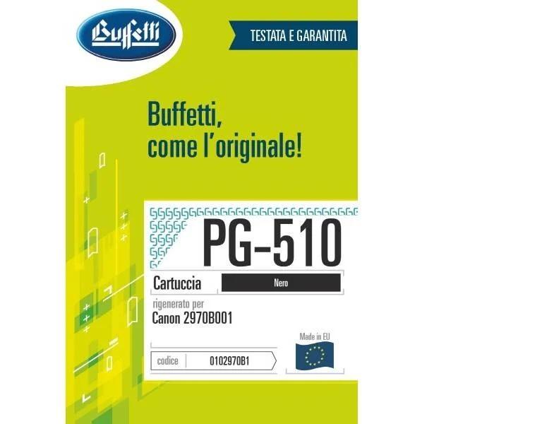 Canon inkjet - compatibile - PG-510 - nero