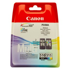 CANON MULTIPACK INCHIOSTRO PG-510 CL-511