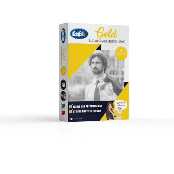 Carta per fotocopie Buffetti Gold A4 80 g