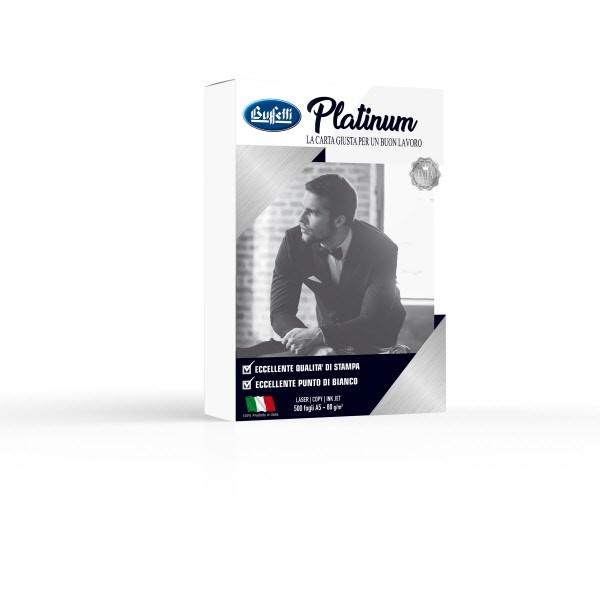 Carta per fotocopie Buffetti Platinum A5 80 g