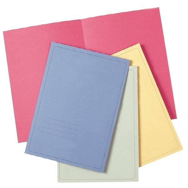 Cartelline semplici Light - cartoncino - 145 g-mq - Giallo