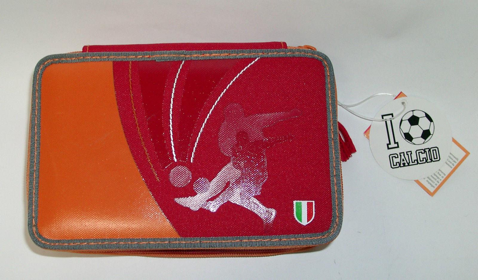 Cartorama Astuccio Triplo I Love Calcio