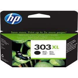 CARTUCCIA A GETTO D INCHIOSTRO HP 303XL NERO