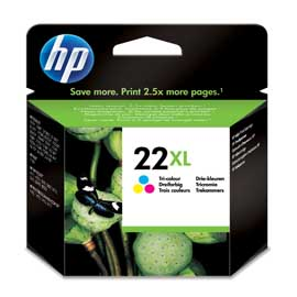 CARTUCCIA HP 22 XL TRICROMIA