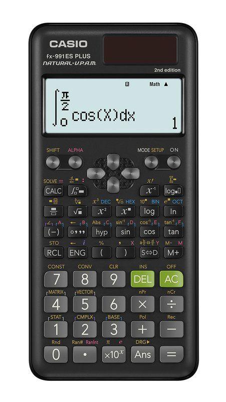 Casio Calcolatrice Scientifica FX-991ES Plus 417 funzioni Grigia