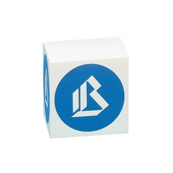 Cubo per appunti bianco 9x9x9 cm Buffetti