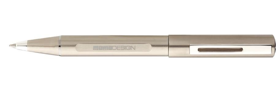 Delta - Momo Design - Alumina - Penna a sfera Titanio
