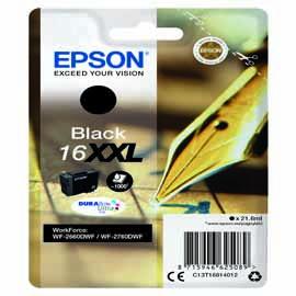 EPSON CARTUCCIA 16xxl NERO EPSON