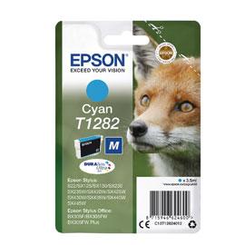 EPSON CARTUCCIA CIANO VOLPE T1282