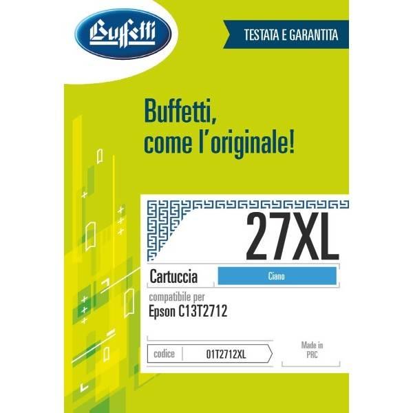 Epson cartuccia Ink-jet - compatibile - 27XL - ciano