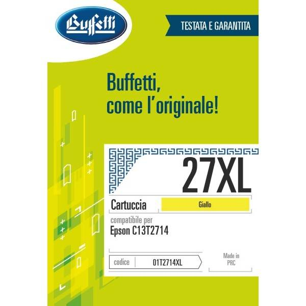 Epson cartuccia Ink-jet - compatibile - 27XL - giallo