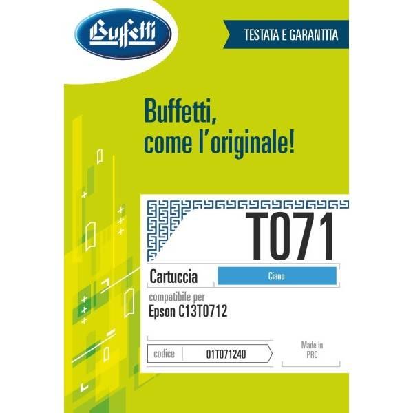 Epson Cartuccia inkjet - compatibile - T071 - ciano